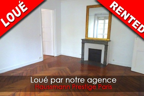 Location Appartement comprenant 3 pieces 3 pieces  secteur SAINT-GERMAIN-DES-PRES - Rue d'Assas