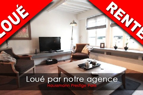 Location Appartement 2 chambres  4 pieces 75006 PARIS 6eme