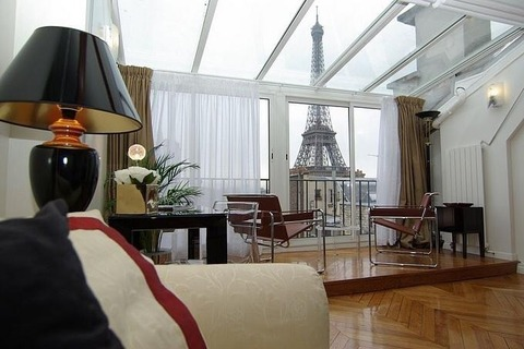 APPARTEMENT 3 pieces   secteur TROCADERO - Chaillot