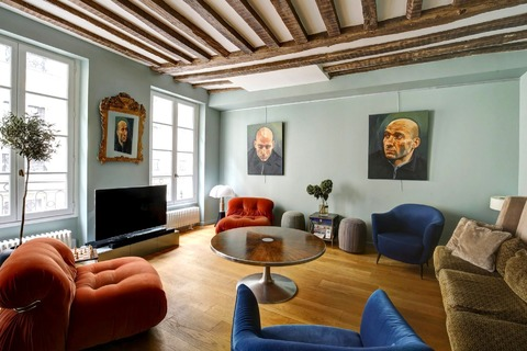 Vente APPARTEMENT 122m2  6 pieces à PARIS 7eme