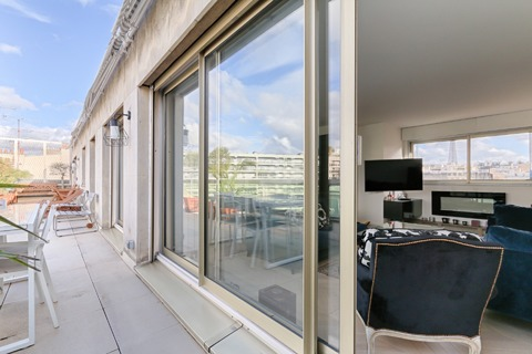 Vente APPARTEMENT comprenant 3 pieces 3 pieces  à PARIS 16eme