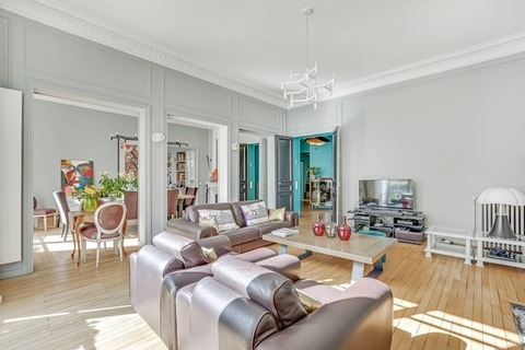 Vente APPARTEMENT  6 pieces  à PARIS 16eme