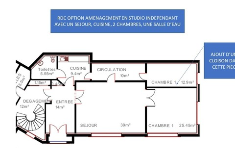 MAISON 420m2 comprenant 10 pieces