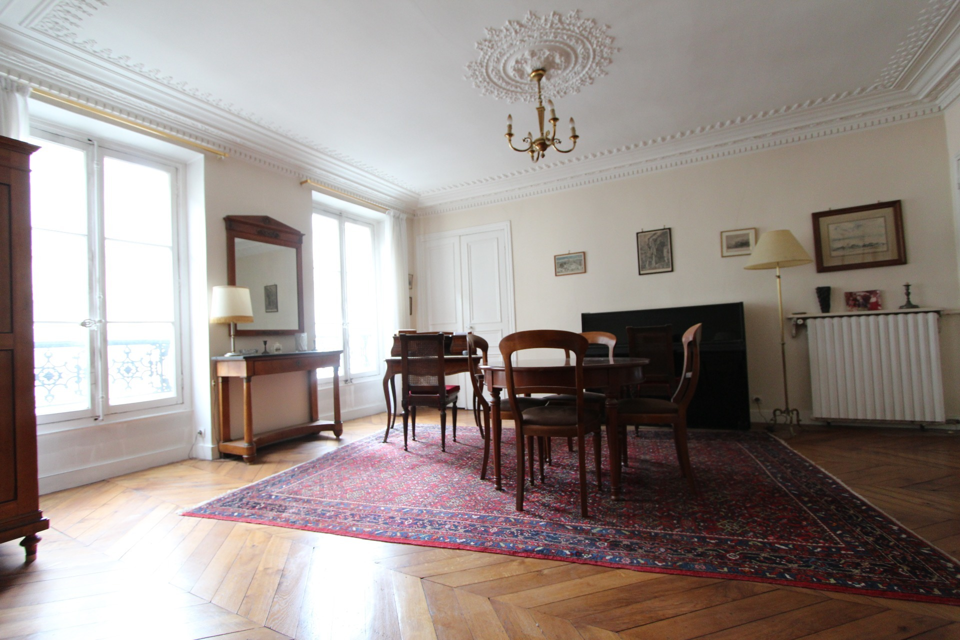 bel appartement de 83 m² à rénover paris 9ème saint-georges