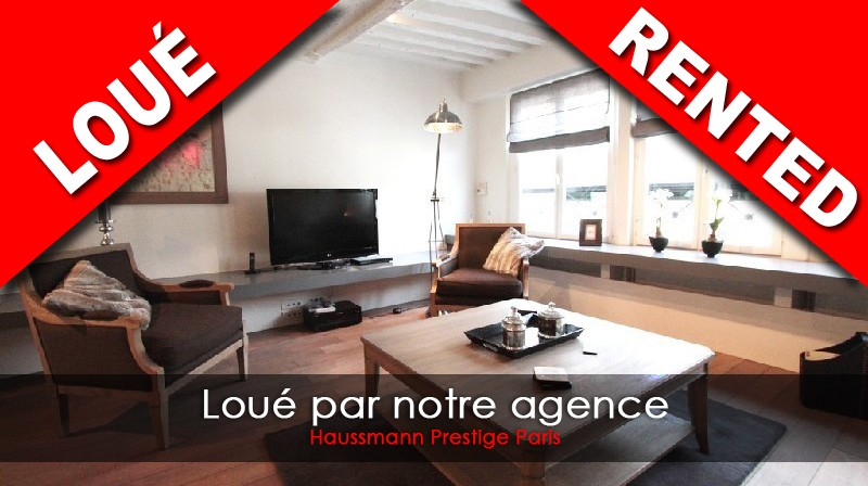 Location Appartement 2 Chambres 4 Pieces à PARIS 6eme